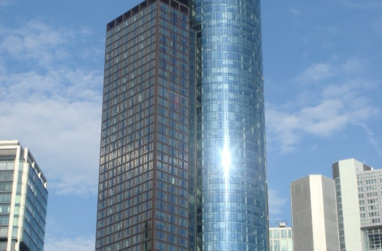 Main Tower-en Frankfurt Alemania