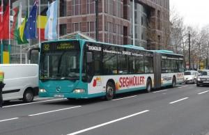 Autobús en Frankfurt
