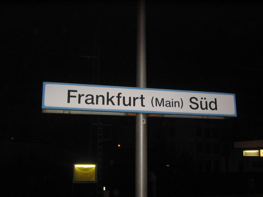 Viajar en tren de Berlín a Frankfurt
