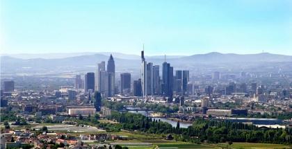 Vista panorámica de la ciudad de Frankfurt