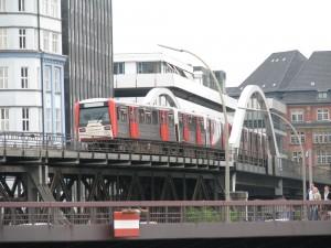 Metro U Bahn en Hamburgo