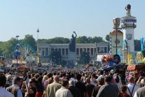 Estatua de Bavaria, Oktoberfest 2006