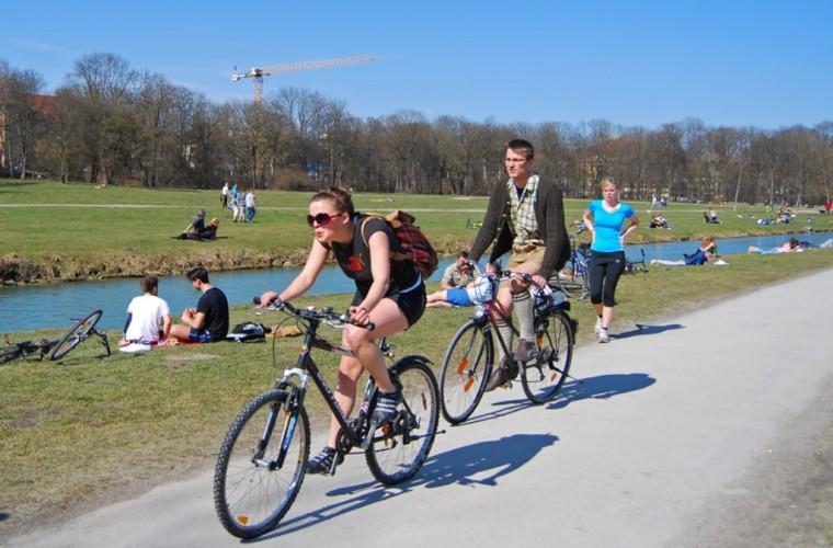 Recorrido en bicicleta por Múnich