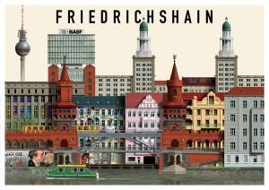 Ilustración de Friedrichshain