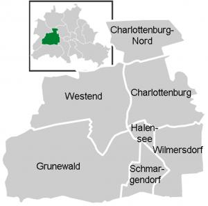 Localidades de Charlottenburg-Wilmersdorf