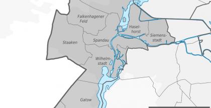 Localidades del distrito Spandau