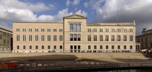 Fachada del Nuevo Museo de Berlín