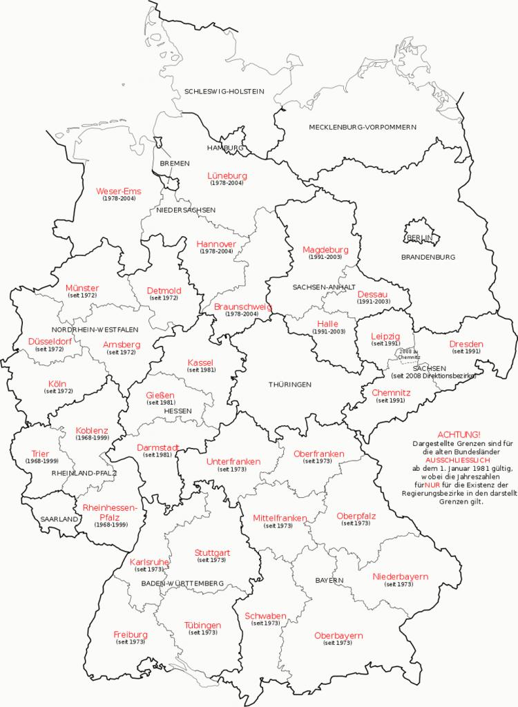 ... de Alemania Mapa ...