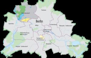 Ubicación del distrito Reinickendorf