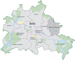 Ubicación del Distrito Marzahn-Hellersdorf