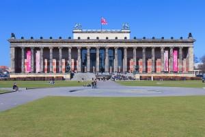 Fachada de Altes Museum (Berlín)
