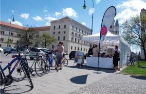 Desplazarse por la ciudad de Múnich