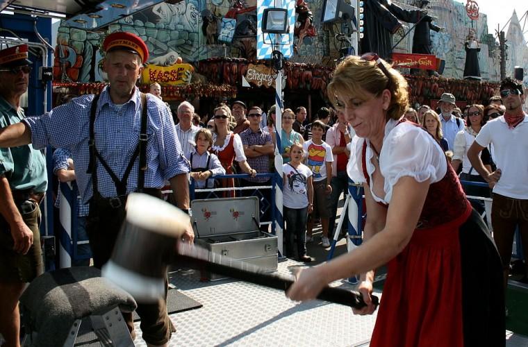 Festividades durante el Oktoberfest
