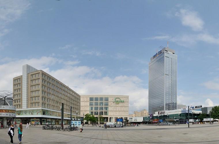 Vista panorámica de Alexanderplatz