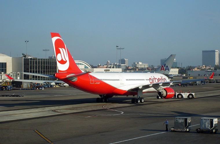 Avión Airbus A330-200 de Air Berlín