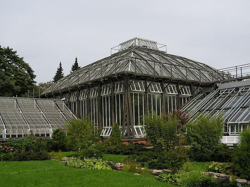 Invernadero del Jardín Botánico de Berlín