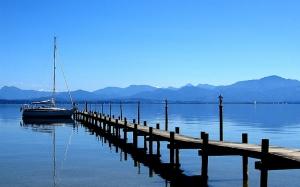Lago Chiemsee (Baviera, Alemania)