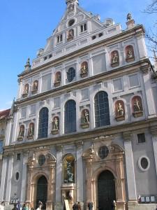 La Michaelskirche en Múnich