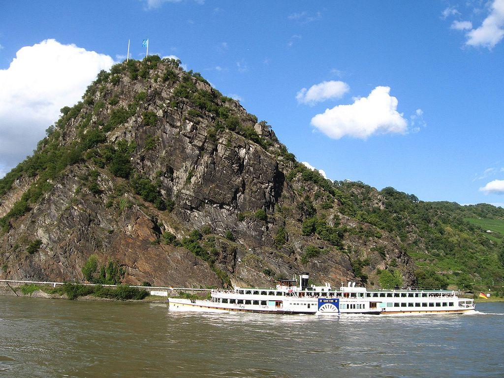 Ruta loreley de los castillos guia de alemania for Roca de guia