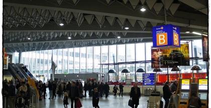Terminal 2 del Aeropuerto de Frankfurt
