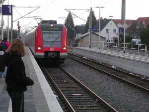 Tren de la línea ET 423 en Frankfurt