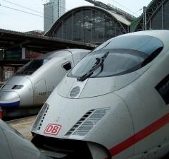 Tren de alta velocidad ICE 3 (Frankfurt)