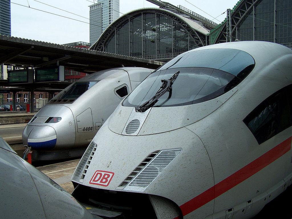 Trenes en Alemania