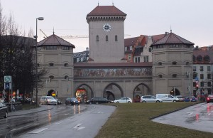 La puerta de Isar (Isartor)