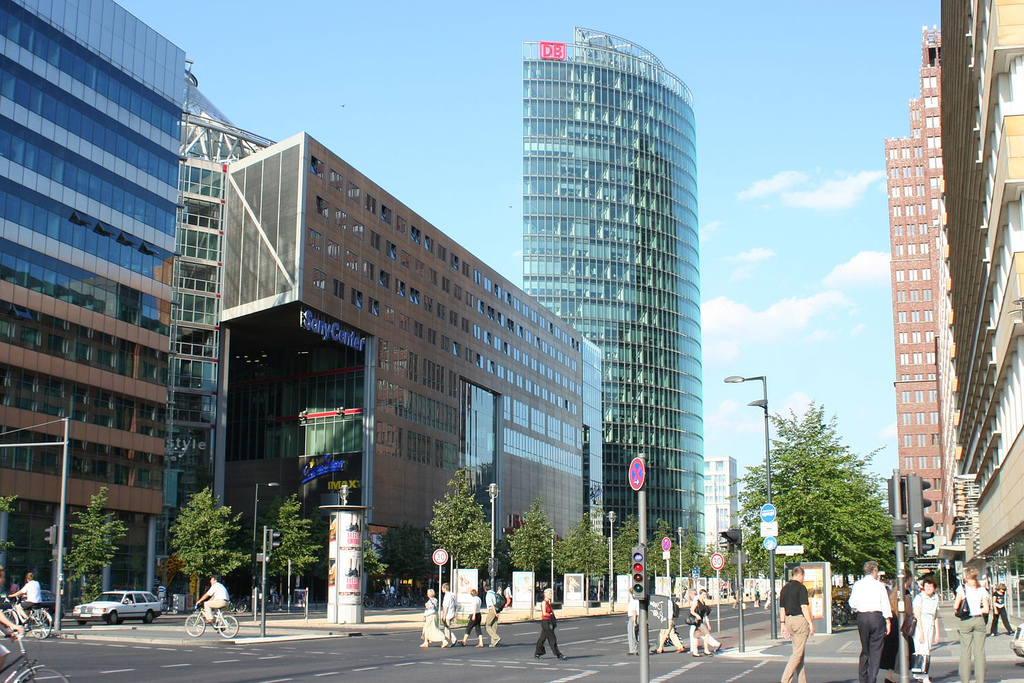 Vista de Potsdamer Platz