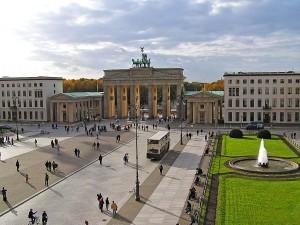 Vista de la Puerta de Brandeburgo
