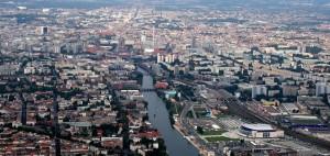 Vista panorámica de la ciudad de Berlín