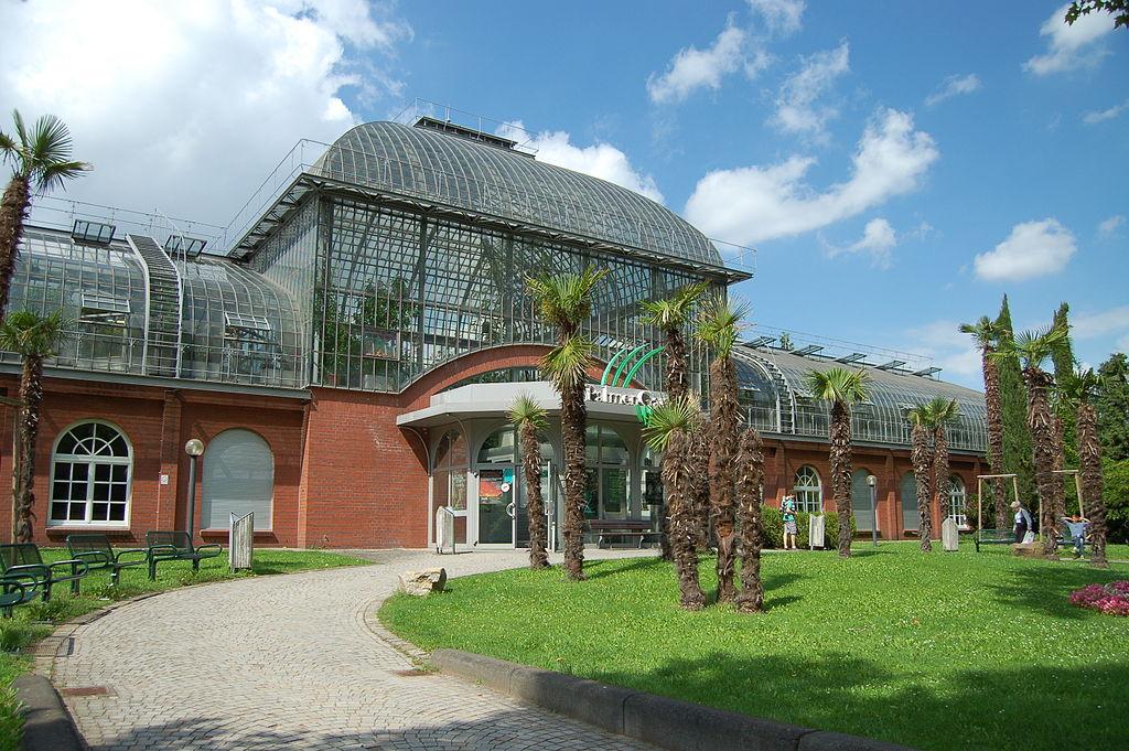 Jard n de palmeras de frankfurt guia de alemania for Aroma frankfurt