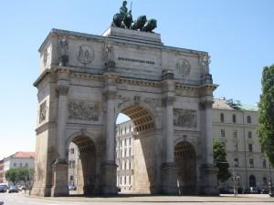 Siegestor - Puerta de la Victoria (Múnich)