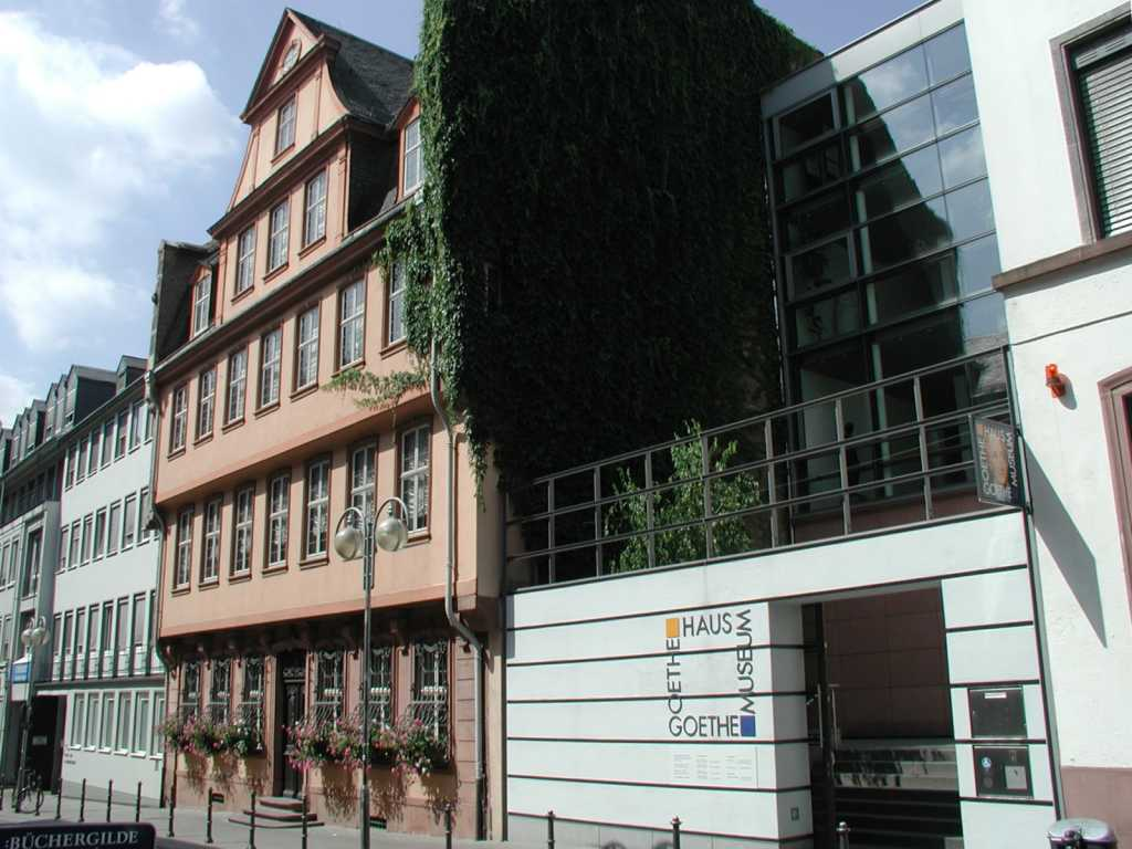 Goethe Museum y Goethe Haus Frankfurt Guia de Alemania