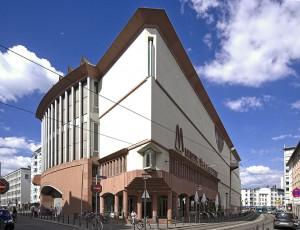 Exterior del Museo de Arte Moderno de Frankfurt.