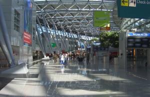 Aeropuerto Internacional de Düsseldorf: Llegadas de vuelos