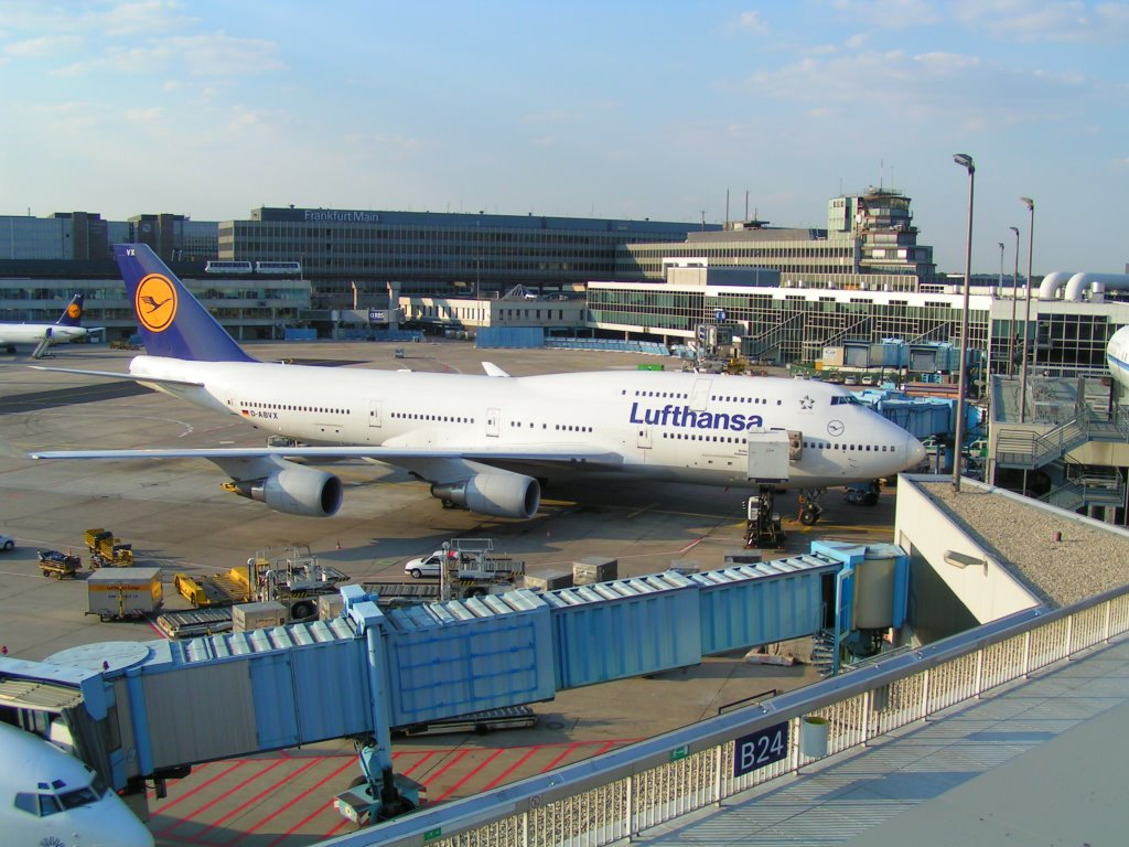 Aeropuerto de Frankfurt: Llegadas de vuelos