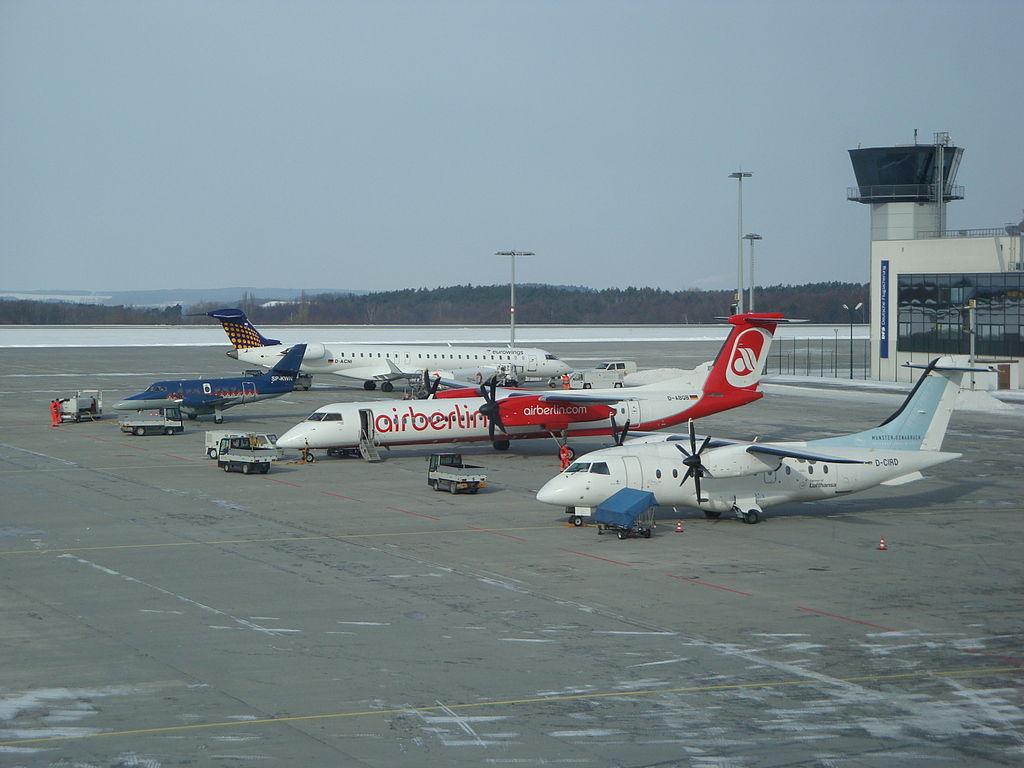 Aeropuerto de Dresde - rampa 3