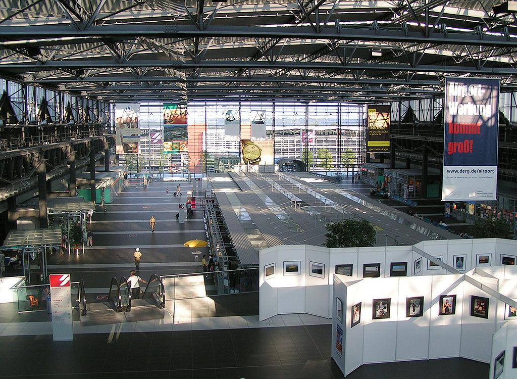 Aeropuerto de Dresde, terminal interior