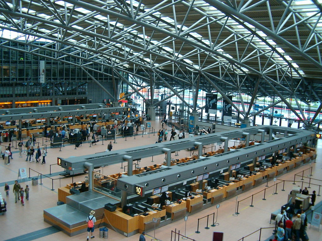 Sala de Partidas del Aeropuerto de Hamburgo