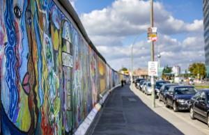 East Side Gallery: Los restos del muro de Berlín