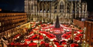 Mercado de Navidad en Roncalliplatz, Colonia