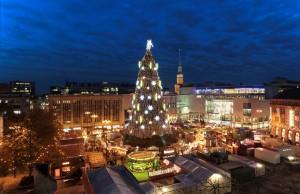 Mercado de Navidad en Hansaplatz, Dortmund