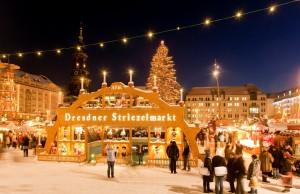 Mercado de Navidad en Dresde