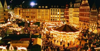 Mercado de Navidad en Römerberg, Frankfurt