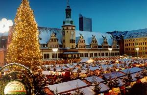 Mercado de Navidad en Leipzig