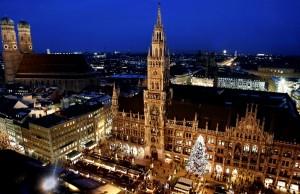 Mercado de Navidad en Múnich