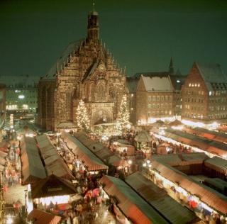 Mercado de Navidad en Núremberg