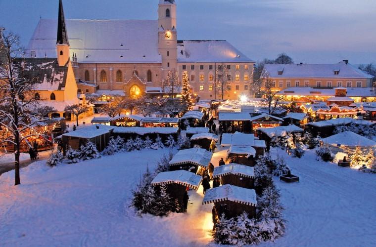 Mercado de Navidad en Kapellplatz, Altötting
