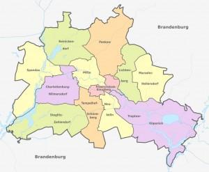 mapa satelital de berlin alemania